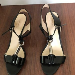 Authentic Coach sandals 37 1/2